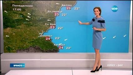 Прогноза за времето (14.09.2015 - обедна)