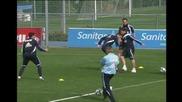 Тренировка на Реал Мадрид