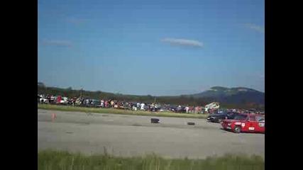 Калибра 150 кс срещу Жигули (страшна кола)