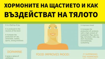 Хормоните на щастието и как въздействат на тялото