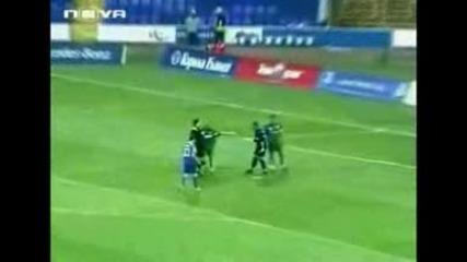 Левски - Черно Море - 5:0.сини Шампиони