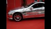 Mercedes Benz от бяло злато
