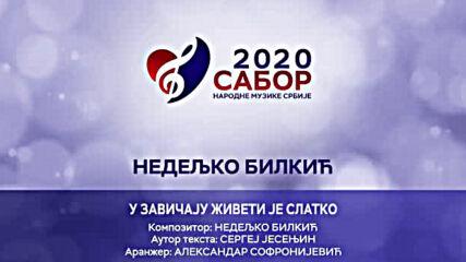Nedeljko Bilkic - U zavicaju ziveti je slatko Sabor narodne muzike Srbije 2020.mp4