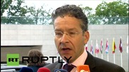Luxembourg: Ecofin ministers arrive for informal meeting