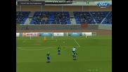 Football Superstars - Tawkon Shock The Keeper And Score