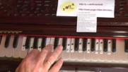 Hari Hari Bol - Lern-video mit sichtbaren Harmoniumtasten mit Noten 152