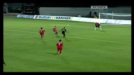 Работнички 0 - 2 Ливърпул (гола на Нгог за 0 - 1)