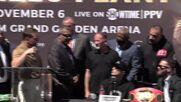 USA: Canelo Alvarez, Caleb Plant trade punches ahead of November 6 bout