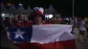 Чилийската радост след успеха над Австралия