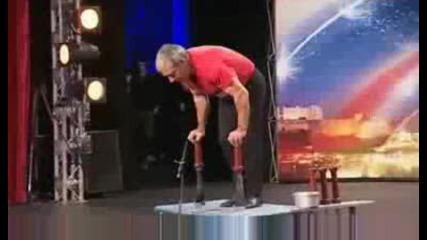 Mike Henderson - Britains Got Talent - Show 3