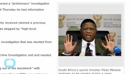 South African Police Investigating World Cup Bribes