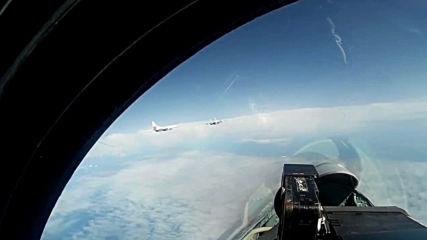 At Sea: Russian Tu-160s tailed by Finnish, Danish, Swedish jets over Baltic Sea - MoD