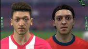 Fifa 14 vs Pes 14 -двубоят между лицата на Арсенал