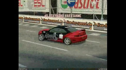 pocko0 B S R My first video on Live For Speed Drift[part 1]