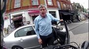 Автомобилен Шофьор се заяжда с Моторист е предаден на полицията