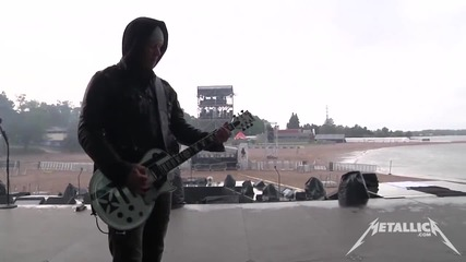 Metallica - Lords Of Summerthe & The Frayed Ends Of Sanity ( Soundcheck ) - Sonisphere Helsinki 2014