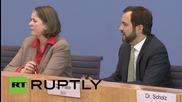 Germany: Assad's 'regime' contributes to refugee crisis - Bundestag spokesperson
