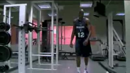 Dwight Howard Working Out