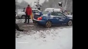 Subaru Impreza Wrx Дърпа камион!