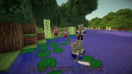 Minecraft-dota 2