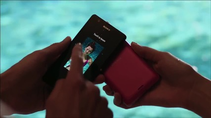 Sony Xperia™ Zr - The new waterproof smartphone