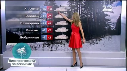 Прогноза за времето (05.01.2015 - централна)