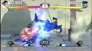 Street Fighter Iv- Mike Ross (e Honda) vs Hugo101 (m Bison) - La Riots Iii 03_28_10 (sf4 Tournament)