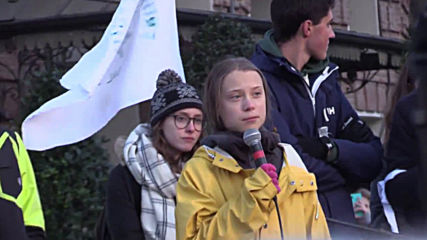 Italy: Greta Thunberg joins 'Friday for Future' rally in Turin