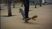 Впечатляващи трикове със скейтборд