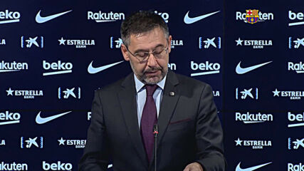 Spain: Josep Maria Bartomeu unexpectedly resigns as president of FC Barcelona