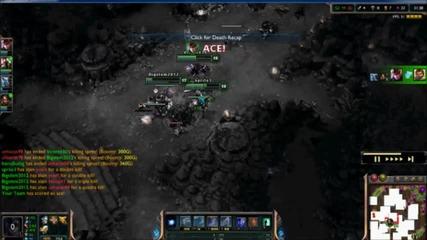 Pentakill or ace?[league of legends]