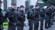Ukraine: 'Financial Maidan' protesters block streets near Verkhovna Rada