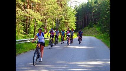 През Родопа планина с колела - Трета част Обиколка на България 2014