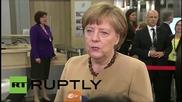 "Latvia: Greek economy ""requires intensive work"" - Merkel"