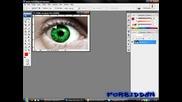 Как да си сменим цвета на очите с Photoshop