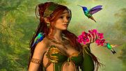 Irish Celtic Music Elven Realm _ Relaxing Instrumental _ Medieval Drums And Flute