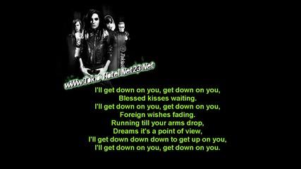 Tokio Hotel - Down On You (караоке)