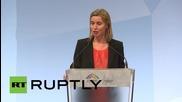 Germany: EU wants Russia back on the international scene, Mogherini says