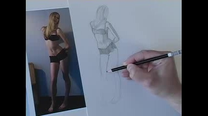 Рисуване - загряване с линии