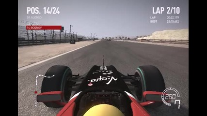 F1 2010 - My Gameplay