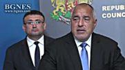 Борисов: Задържаният менеше адресите си в реално време и на териториите на трите провинции трябваше