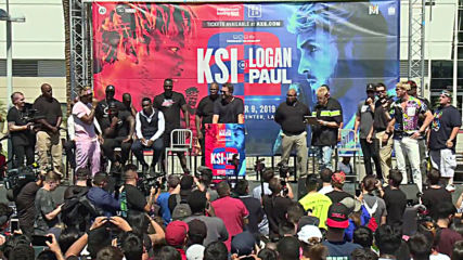 USA: Youtuber Logan Paul predicts 'first round knock-out' at upcoming KSI rematch