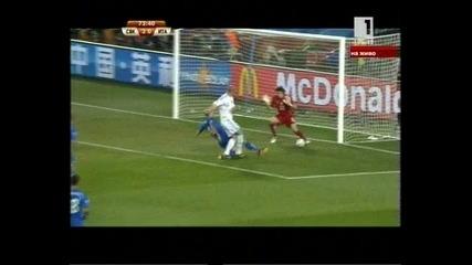 словакия - италия 2:0 гол на Забавник