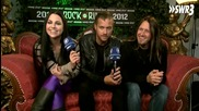 Questions to Evanescence - Rock Am Ring 2012