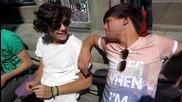 One Direction разговарят с фенове в Швеция, само колко са спокойни