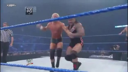 Wwe Smackdown Крисчън, Кофи Кингстън и Мвп срещу Венс Архър, Кърт Хоукинс и Долф Зиглър