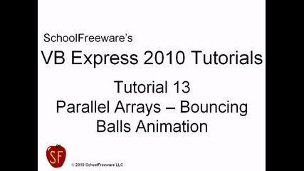 Microsoft Visual Basic 2010 Express { Видео 13 }