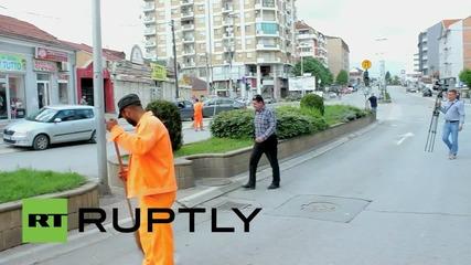 Македония: Напрежението в Куманово нараства след сблъсъци на въоръжени групи хора с полицията