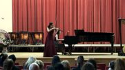 Абитуриентски концерт на Слава Атанасова 05 06 2015 гр. София