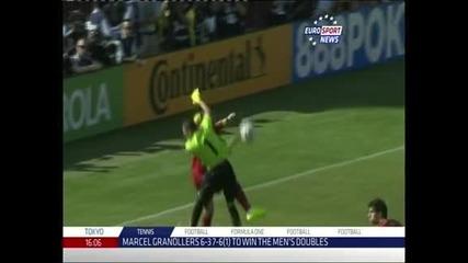Давид Вия донесе на Испания победа с 2:0 над Салвадор